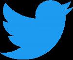 2021 Twitter logo - blue